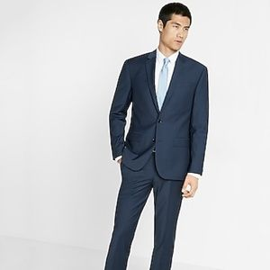 New - Express - Stretch Wool-Blend Suit Jacket